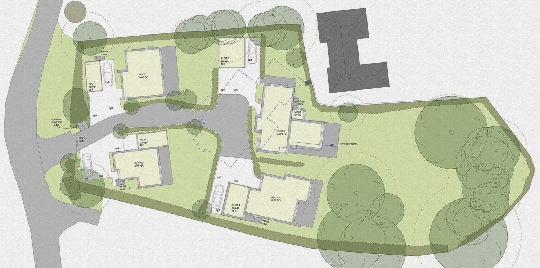 WLA Satchell Lane Site Plan