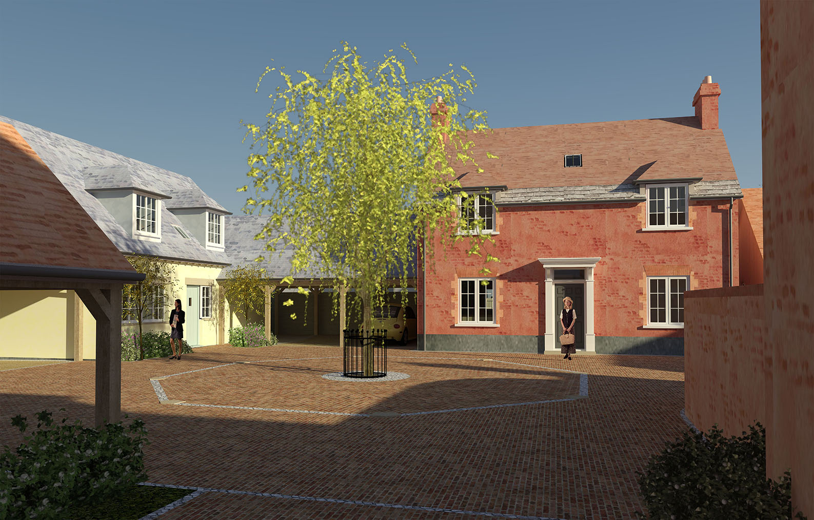 WLA Wareham Courtyard