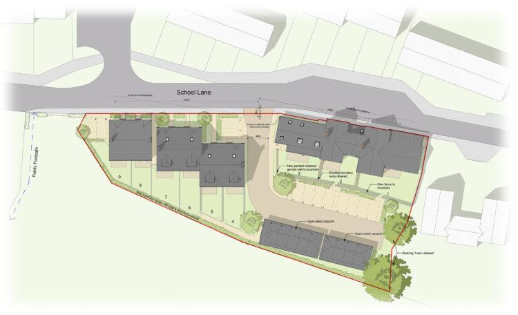West Lulworth Site Plan