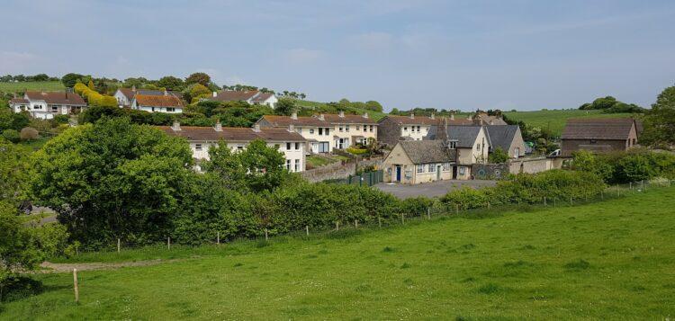 West Lulworth View