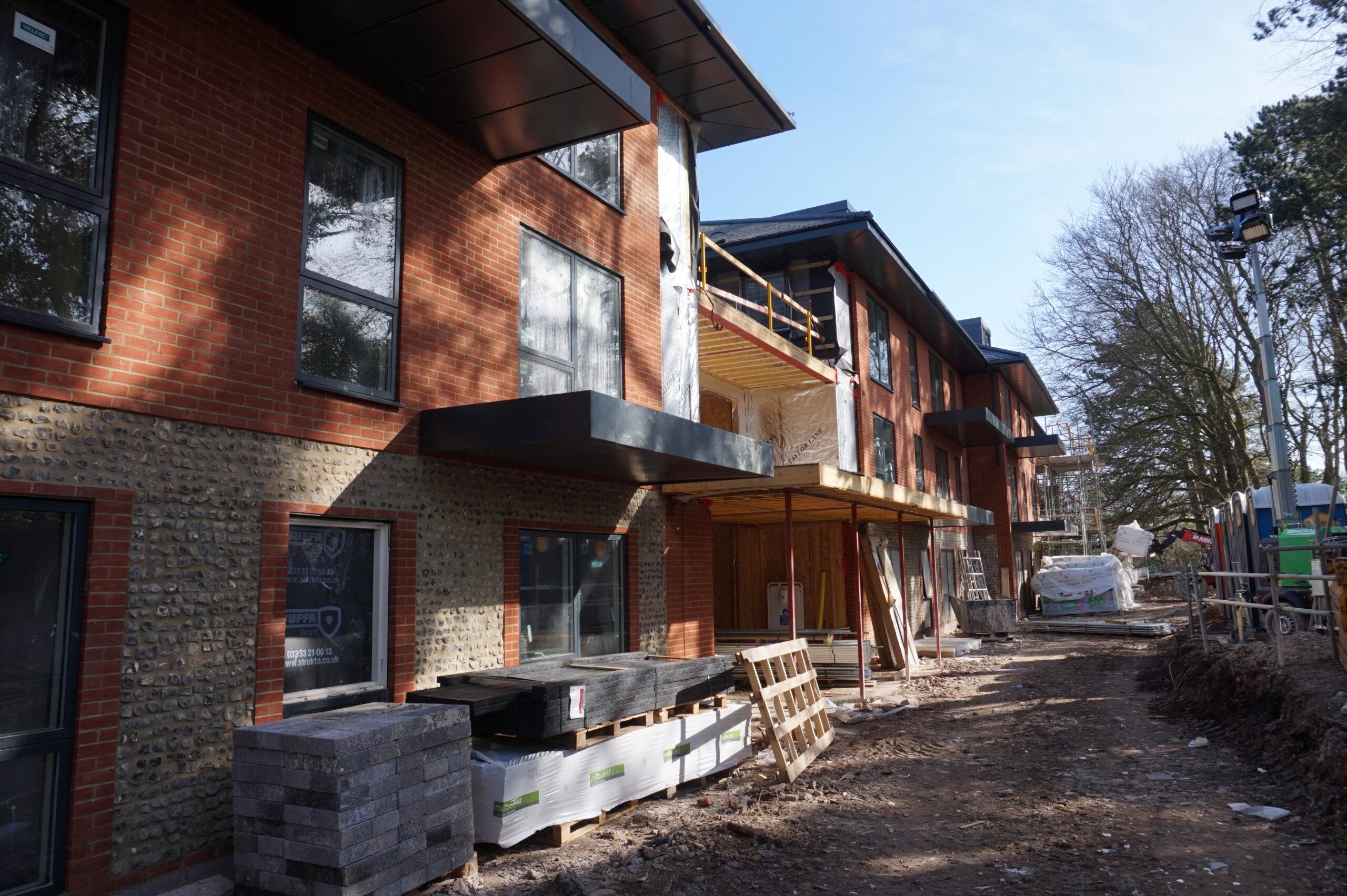 WLA Winchester Holts Construction Garden